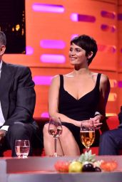 Gemma Arterton - Graham Norton Show in London 11/23/ 2016