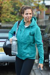 Gemma Atkinson at Key Radio in Manchester, UK 11/10/2016