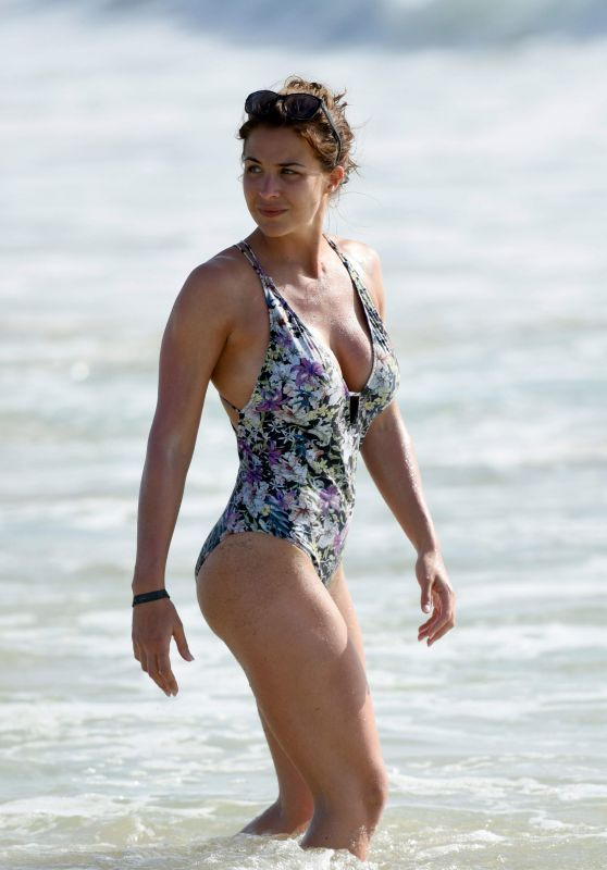 Gemma Atkinson in Swimsuit - Beach in Cape Verde 2016