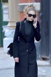 Gigi Hadid Autumn Style - NYC 10/31/ 2016