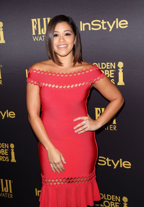 Gina Rodriguez – HFPA & InStyle's Celebration of Golden Globe Awards Season in LA 11/10/2016