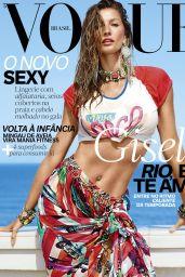 Gisele Bundchen - Vogue Magazine Brasil, November 2016