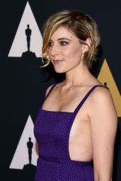 Greta Gerwig - Governors Awards in Los Angeles 11/12/ 2016