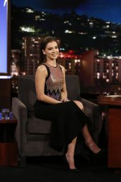 Hailee Steinfeld Appeared on Jimmy Kimmel Live 11/1/ 2016