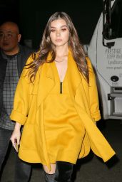 Hailee Steinfeld Style - At Her Hotel in NYC 11/17/ 2016
