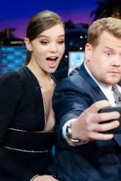 Hailee Steinfeld - The Late Late Show with James Corden in Los Angeles 11/10/ 2016