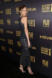 Halston Sage – HFPA & InStyle's Celebration of Golden Globe Awards Season in LA 11/10/2016