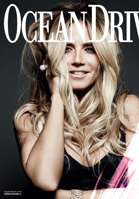 Heidi Klum - Ocean Drive Magazine December 2016 Issue