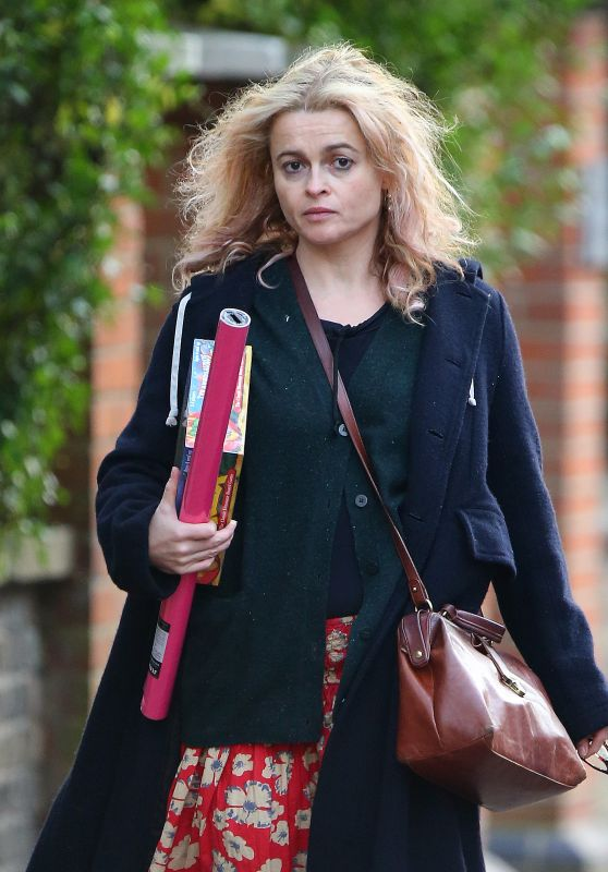 Helena Bonham Carter - Christmas Shopping in London 11/26/ 2016