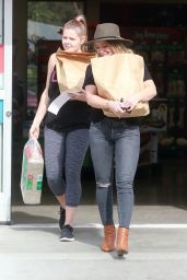 Hilary Duff at Petco in Los Angeles 11/15/ 2016
