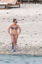 Hilary Duff in Bikini - Beach in Puerta Vallarta 11/12/ 2016