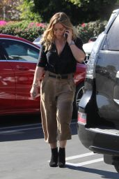 Hilary Duff - Leaving Fred Segal After Having Lunch in Los Angeles 11/3/ 2016