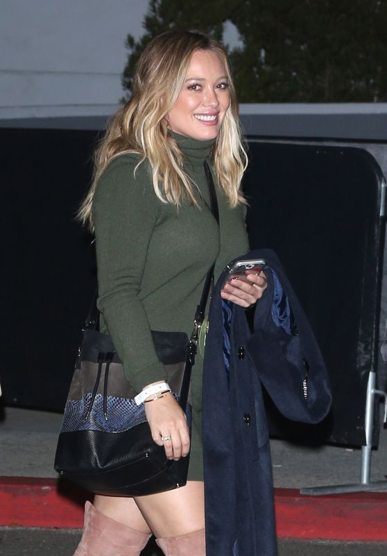 Hilary Duff - Leaving Kanye West