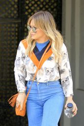Hilary Duff - Shopping in Beverly Hills 11/22/ 2016