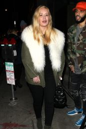 Iggy Azalea - Dines at Catch Restaurant in West Hollywood 11/27/ 2016