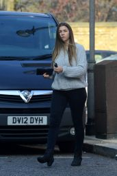 Imogen Thomas - Make Up Free in Chelsea, November 2016