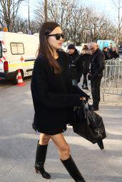Irina Shayk Arrives at Grand Palais in Paris 11/29 /2016