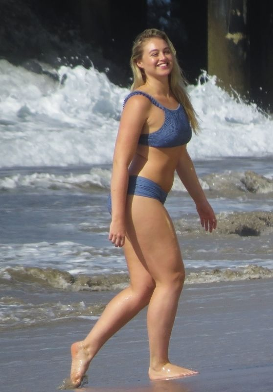 Iskra Lawrence - Swimwear Shoot in Santa Monica 11/1/ 2016