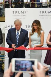 Ivanka Trump, Melania Trump & Tiffany Trump at Trump International Hotel in Washington DC, October 2016