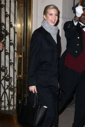 Ivanka Trump - Out and About in New York City 11/28/ 2016