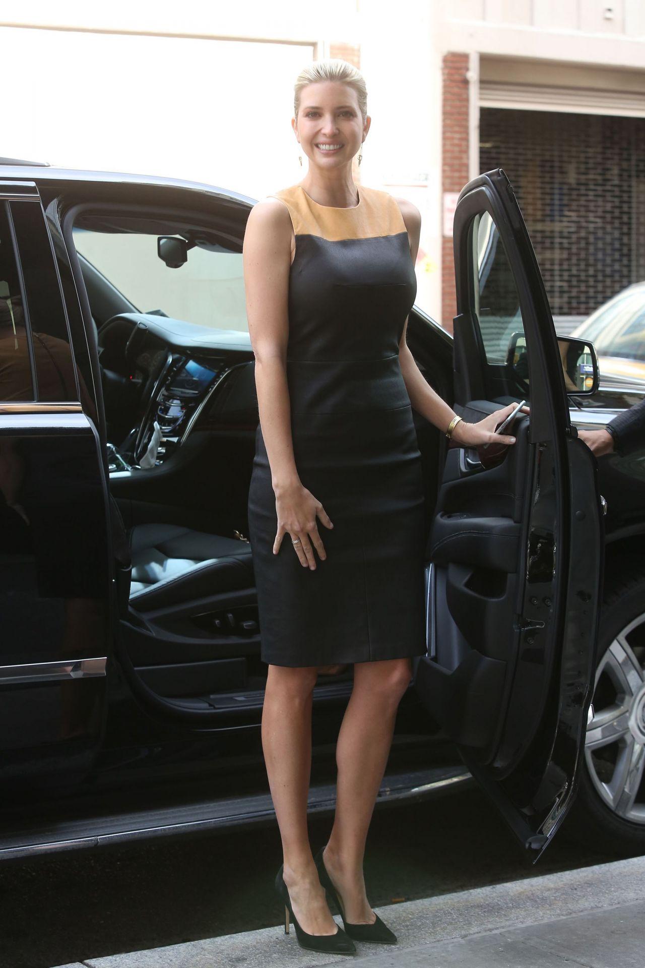 Ivanka Trump Style - Heading to Trump SoHo Hotel in New ... Milla Jovovich