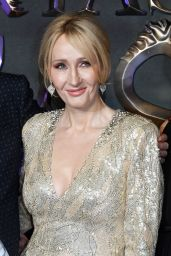 J.K. Rowling – 'Fantastic Beasts and Where To Find Them' Film Premiere in London