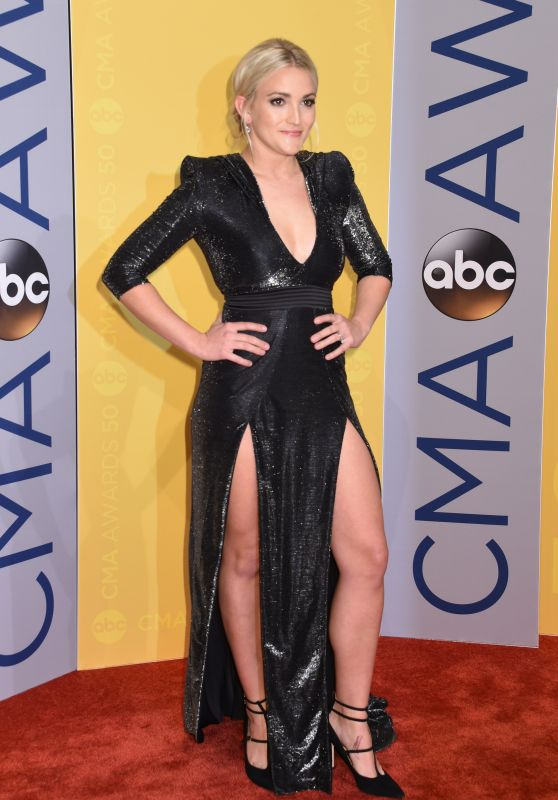 Jamie Lynn Spears - 50th Annual CMA Awards in Nashville 11/2/ 2016