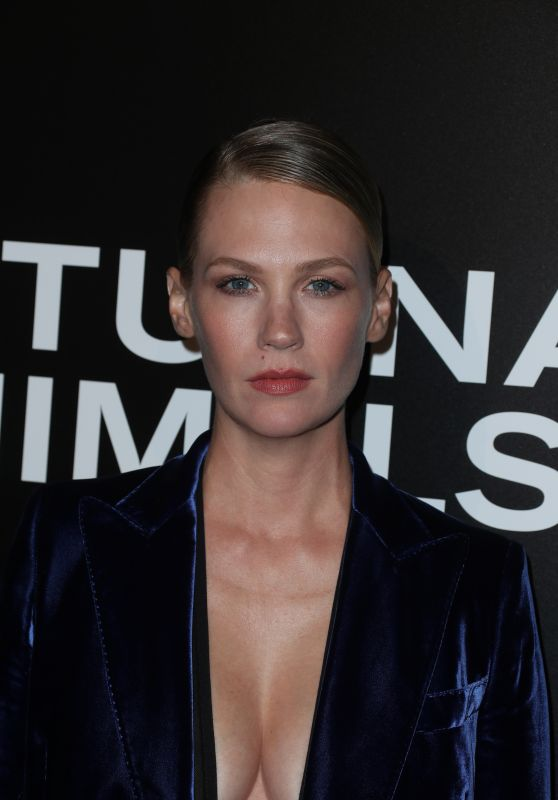 January Jones – 'Nocturnal Animals' Screening in Los Angeles