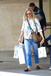 January Jones - Shopping atThe Grove in LA 11/19/ 2016