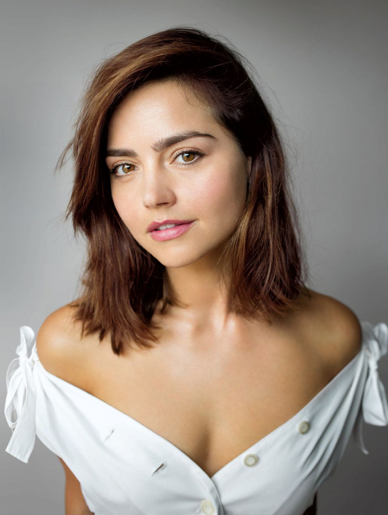 Jenna Coleman Photoshoot For Glamour Uk October 2016