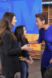Jenna Ortega Appeared on Good Morning America, November 2016