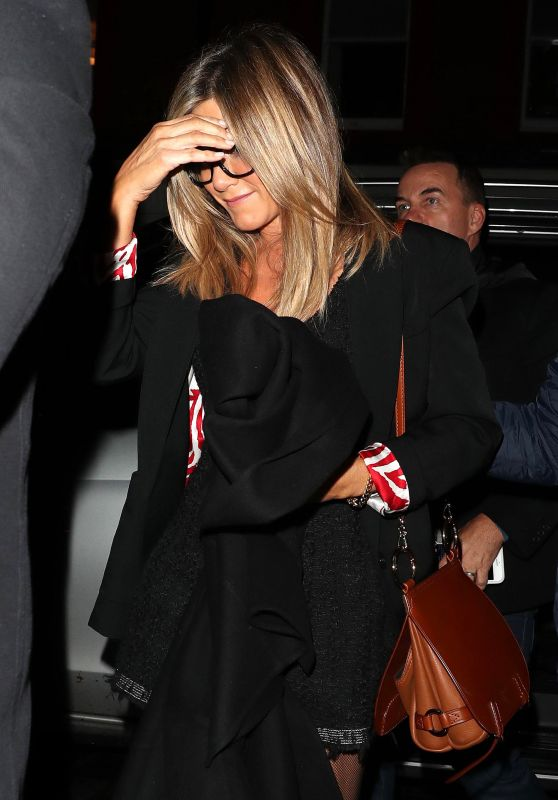 Jennifer Aniston at the Chiltern Firehouse in London 11/21/ 2016