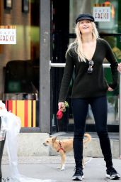 Jennifer Lawrence Street Style - Out With Her Dog in NYC 11/3/ 2016