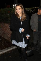 Jessica Alba at Delilah in West Hollywood 11/26/ 2016