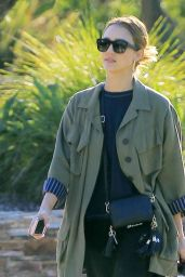 Jessica Alba at the Park in Los Angeles 11/25/ 2016