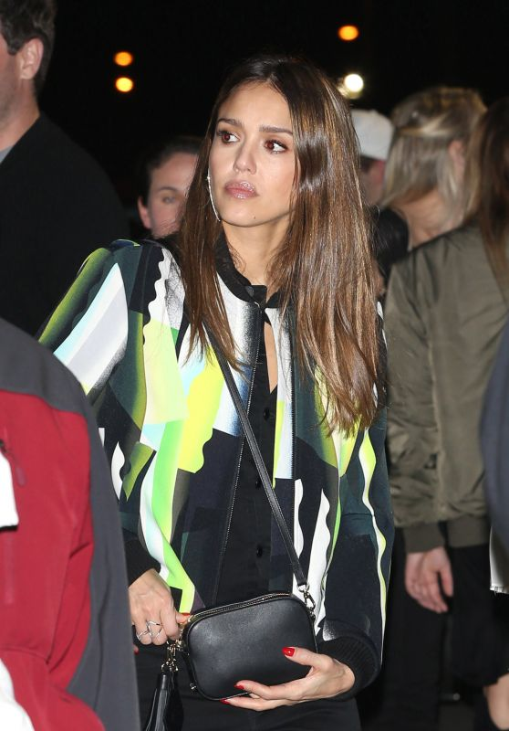Jessica Alba Concert Outfit Ideas - Leaving Kanye West