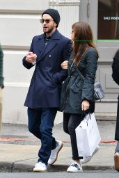 Jessica Biel and Justin Timberlake - Shopping in NYC 11/26/ 2016