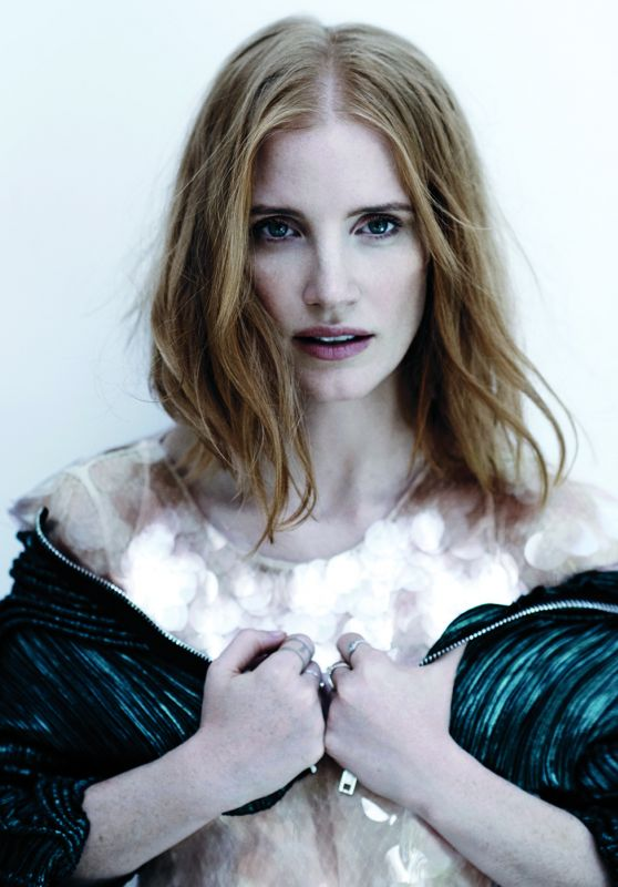Jessica Chastain - C Magazine November 2016 Cover and Photos