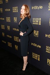 Jessica Chastain – HFPA & InStyle's Celebration of Golden Globe Awards Season in LA 11/10/2016