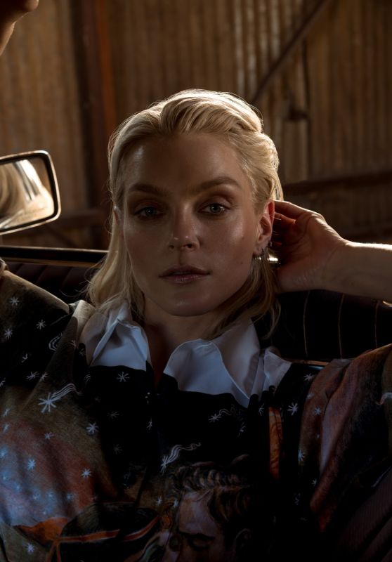 Jessica Stam - Photoshoot for Harper