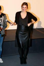 Julie Gayet - Festival Des 6 Trouilles Short Film Festival In Libourne 11/26/ 2016