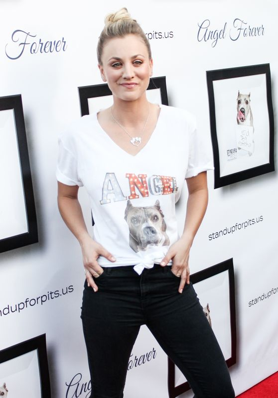 Kaley Cuoco - Stand Up For Pits Event in Los Angeles 11/5/ 2016