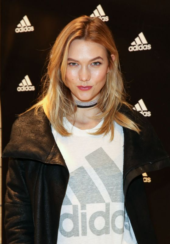 Karlie Kloss - Adidas Flagship Preview Party in New York 11/29/ 2016