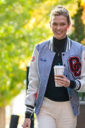 Karlie Kloss Casual Style - Shopping in NYC 11/8/ 2016