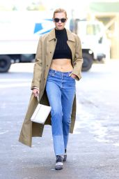 Karlie Kloss - Out in NYC 11/4/2016