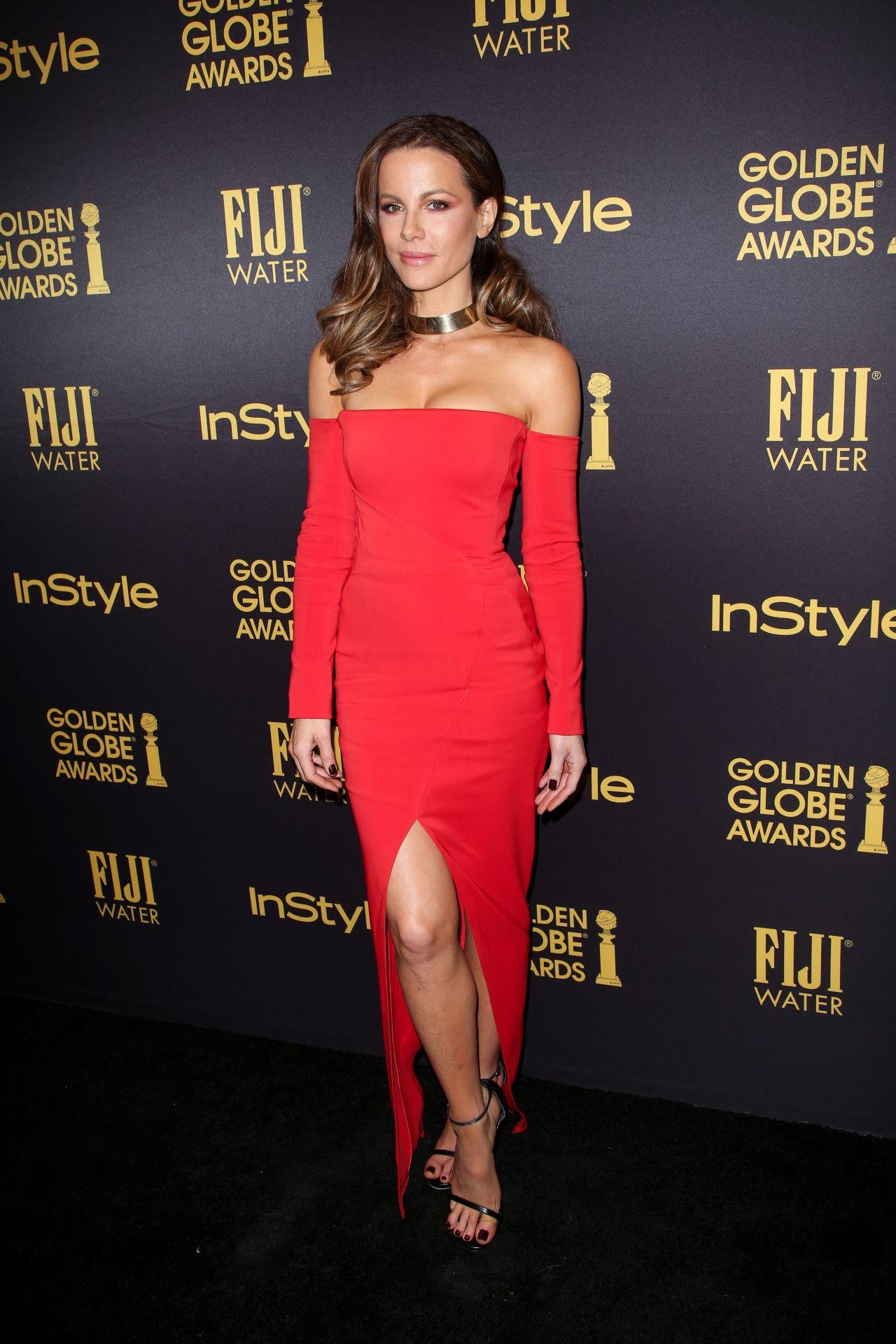Kate Beckinsale 2017 Golden Globe Awards Season In West
