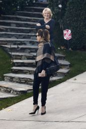 Kate Beckinsale Autumn Style - Leaving Her House in LA 11/27/ 2016