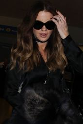 Kate Beckinsale Chic Outfit - at LAX 11/23/ 2016