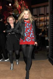 Kate Moss - Coach Fashion Flagship Store Launch Party in London 11/25/ 2016