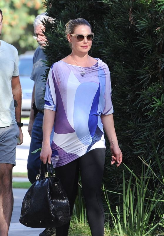 Katherine Heigl - Out For Lunch at Messhall in Los Feliz 11/23/ 2016